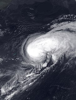 Hurricane Nate (2005) Category 1 Atlantic hurricane in 2005