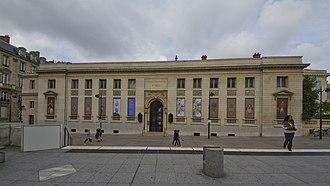 Musée de la Légion d'honneur - The museum building in 2013