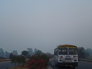 National Highway 19 (India) - NH-19, Khaga, Fatehpur district, Uttar Pradesh