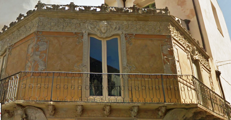 Negozio Frigeri, Via Manzoni, Catania, arch. Tommaso Malerba
