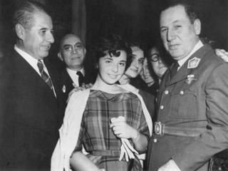 Nelly Rivas Mistress of Juan Domingo Peron