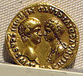 Nerone e agrippina minor, aureo, 54.JPG