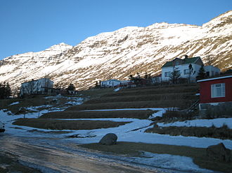 Neskaupstaður - View of Neskaupstaður