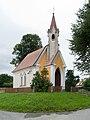 Netěchovice - kaple svatého Václava od Z.jpg