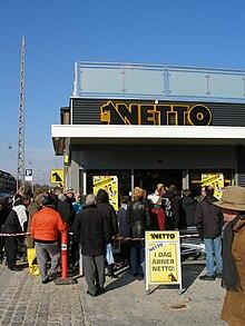Netto (supermarkedskæde) - Wikipedia, den frie encyklopædi
