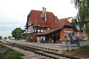 Neuffen - Neuffen station