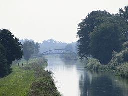 Floden Elde nord for Neustadt-Glewe