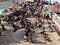 New Christian Market - Viewed from Balcony of Belayneh Hotel - Harar - Ethiopia (8749447395).jpg