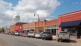 New Cordell, Oklahoma - Image: New Cordell Courthouse Square Historic District