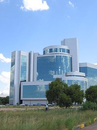 Southern District (Botswana) - Image: New Ministry building, Gabarone, Botswana panoramio
