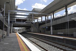 Mitcham railway station, Melbourne