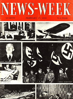 Newsweek - Cover of the first issue of News-Week magazine