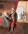 Nicholas I on the ball by A.Ladurner.JPG