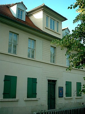 Nietzsche-Haus, Naumburg - The Nietzsche-Haus in Naumburg