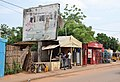Niger, Dosso (19), butcher and billboard.jpg