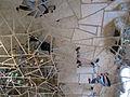Niki de saint-phalle, giardino dei tarocchi, imperatrice, interno, mosaico di specchi 01.JPG