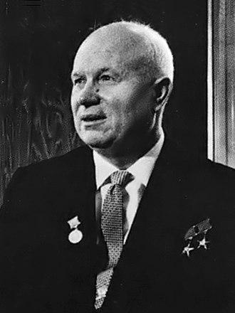 Nikita Khrushchev - Khrushchev in Vienna in 1961