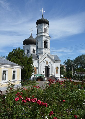 Nikopol, Ukraine - Transfiguration church in Nikopol