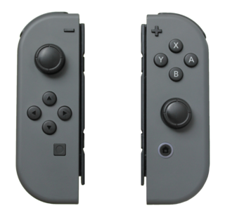 Joy-Con Primary game controllers for the Nintendo Switch