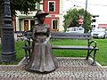 Nisko - postać Marii Resseguier w parku przy Placu Wolności (2).jpg