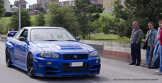 Nissan Gt R Wikipedia >> File:Nissan Skyline GT-R (R34) (6235066673).jpg - Wikipedia