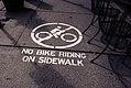 No Bike Riding on Sidewalk (17395355852).jpg