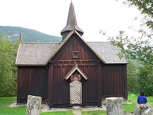 Nore Stave Church - Nore Stave Church