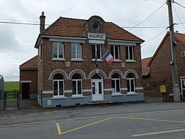 The town hall of Noreuil