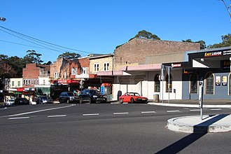 Normanhurst, New South Wales - Strip of shops at Normanhurst railway station
