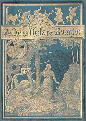 Peter Christen Asbjørnsen -  Norske folke- og huldreeventyr. Andet oplag  (1896) (Gyldendalske Boghandels Forlag,  Copenhagen)