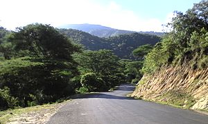 Pare people - Road up towards the north pare mountains