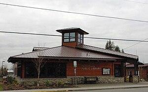 North Plains, Oregon - North Plains Library.