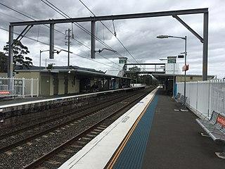 North Wollongong railway station