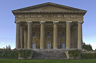 William Wilkins (architect) - The Grange, Northington
