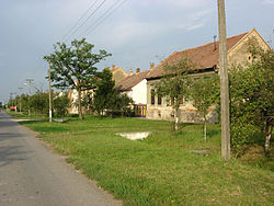 Old houses in Novi Kozarci