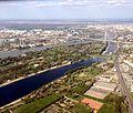 Novo Beograd - ada ciganlija and Cukarica - Banovo Brdo IMG 1758.jpg