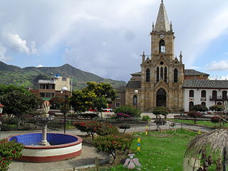 Nuevo Colón Municipality and town in Boyacá Department, Colombia