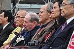 OIST Inauguration Ceremony 2011, Akito Arima, Sydney Brenner, and Torsten Wiesel (33893830242).jpg