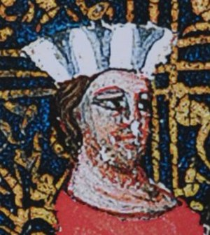 Oldřich, Duke of Bohemia - Depiction in the Chronicle of Dalimil, 14th century