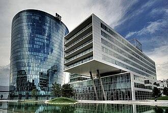 OMV - The OMV head office in the Hoch Zwei skyscraper in Vienna