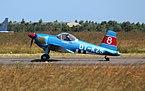 OY-KZS SAI KZ VIII landing at Danish Air Show 2014-06-22 cropped.jpg