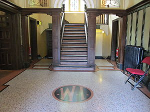 Oakdale Workmen's Institute - Foyer of the Oakdale Workmen's Institute