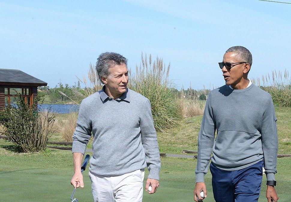 Obama Macri October 2017