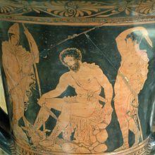 Odisseo e Tiresia