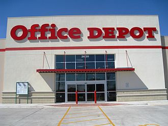 "Office Depot - Office Depot's first (now closed) ""green"" store in Austin, Texas"