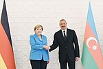 Official meeting ceremony of Federal Chancellor of Germany Angela Merkel was held 13.jpg