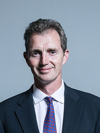 David Davies (Welsh politician) - Image: Official portrait of David T. C. Davies crop 2