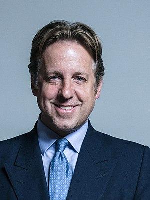 Marcus Fysh - Official Parliamentary portrait, June 2017