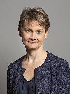 Yvette Cooper British Labour politician