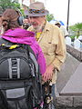 Oil Flood Protest Dr John interview 4.JPG